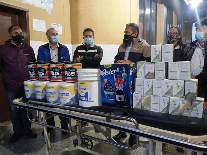 Diario Frontera, Frontera Digital,  HOSPITAL DE PUEBLO LLANO, Páramo, ,Ejecutivo regional entregó insumos y enseres a hospital de Pueblo Llano