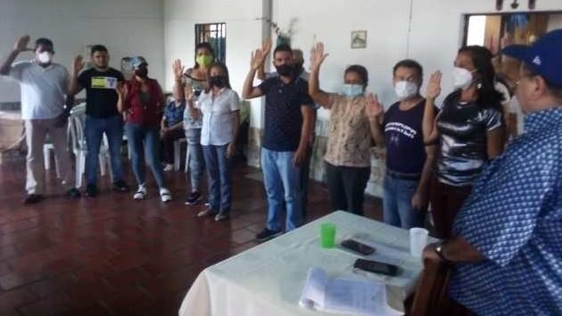 https://fronteradigital.com.ve/Juramentan nueva Dirección Municipal de Copei  en Antonio Pinto Salinas