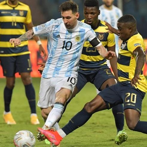 Diario Frontera, Frontera Digital,  MESSI, Deportes, ,Argentina golea a Ecuador y se cita con Colombia en semis de la Copa América