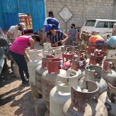 Diario Frontera, Frontera Digital,  NEVADO GAS, Regionales, ,Nevado Gas entregó cerca de  un millón de litros de gas doméstico en Mérida