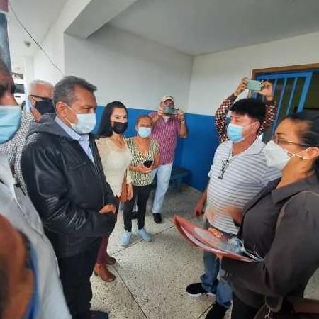 Diario Frontera, Frontera Digital,  CORPOSALUD, Panamericana, ,Corposalud instruyó inventario en hospital de La Azulita