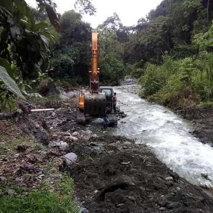 Diario Frontera, Frontera Digital,  INMIVI, Mocoties, ,Inmivi ejecutó canalización de quebradas  de El Guayabal en Santa Cruz de Mora
