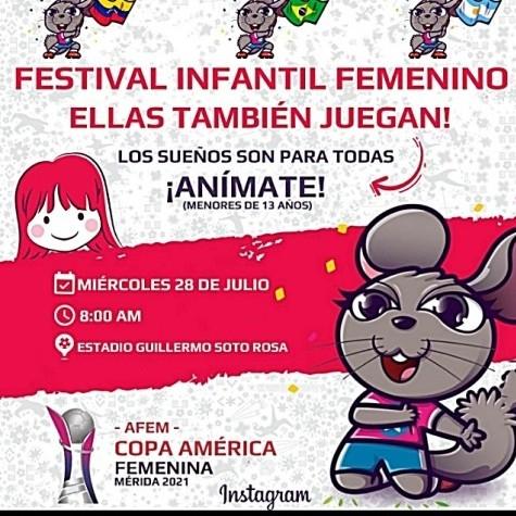 """Diario Frontera, Frontera Digital,  ASOFÚTBOL DE MÉRIDA, Deportes, ,El fútbol femenino de Mérida tendrá """"Copa América"""" y Festival en el """"Soto Rosa"""""""