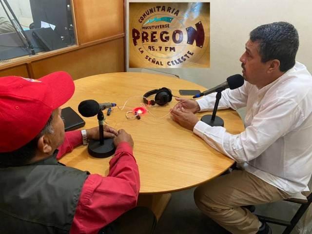 Diario Frontera, Frontera Digital,  MUCUTUY, RAMÓN LOBO, Regionales, ,RADIO PREGÓN 95.7 FM TRANSMITIÓ PROPUESTAS DE RAMÓN LOBO