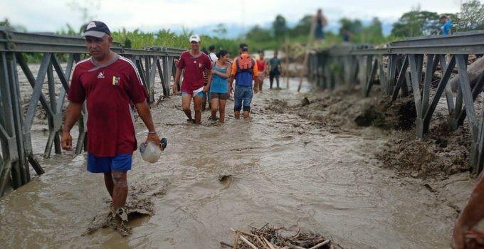 Diario Frontera, Frontera Digital,  río chama, inundaciones en el sur del lago, Panamericana, ,Más de 1.200 familias afectadas en Zulia  por desbordamiento de río Chama