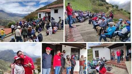 """https://fronteradigital.com.ve/""""Gracias a los habitantes de Los Nevados  pues juntos vamos a protagonizar el cambio"""""""