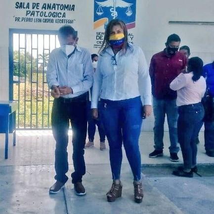 """Diario Frontera, Frontera Digital,  Hospital Tipo II """"Adán Muñoz Callejas"""", Panamericana, ,Gobernador entregará culminada la sala de Anatomía Patológica de El Vigía"""