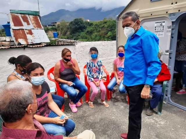 Diario Frontera, Frontera Digital,  GOBERNADOR RAMÓN GUEVARA, Mocoties, ,Gobernador Ramón Guevara supervisó atención médica de los tovareños