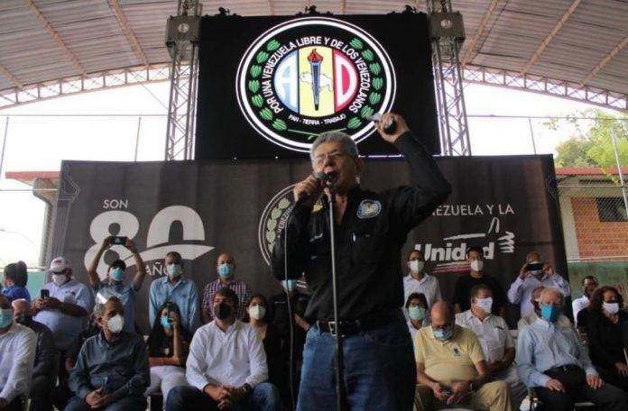 """Diario Frontera, Frontera Digital,  RAMON ALLUP, Politica, ,Ramos Allup: """"No he conversado ni conversaré sobre candidatos comunes  con los estafadores que usurparon la tarjeta de AD"""""""