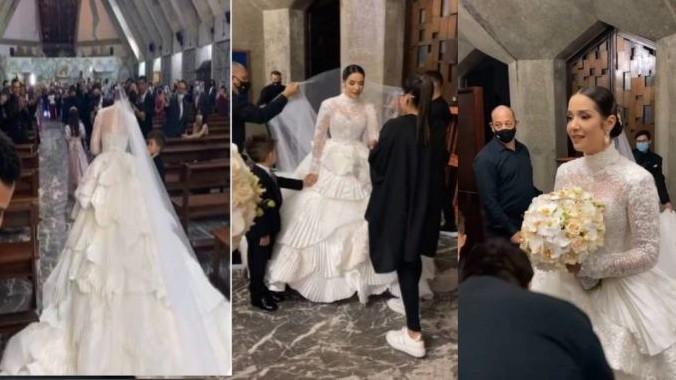 https://fronteradigital.com.ve/El momento más emocionante  en la boda de Daniela Alvarado y José Manuel
