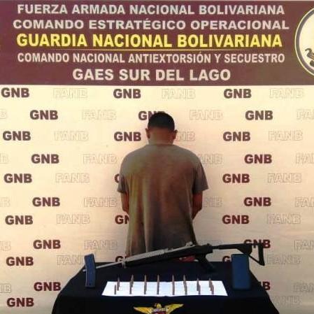Frontera Digital, Diario Frontera, CONAS CAPTURÓ A CIUDADANO POR FABRICAR  Y ENSAMBLAR  ARMAMENTO DE GUERRA EN COLÓN-ZULIA