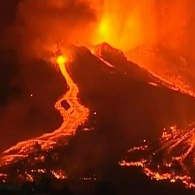 Diario Frontera, Frontera Digital,  ERUPCIÓN DE VOLCÁN EN LAS PALMAS, Internacionales, ,Más de 5.000 evacuados por erupción volcánica  en la isla española de La Palma