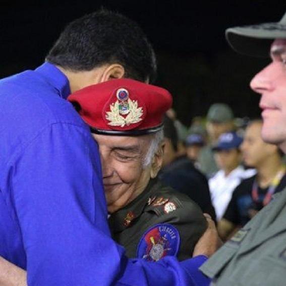 Frontera Digital,  FALLECIÓ PÉREZ ARCAY, Nacionales,  Presidente Nicolás Maduro lamenta  fallecimiento del General en Jefe Jacinto Pérez Arcay